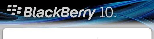 Logo Blackberry 10