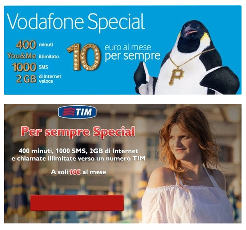TIM vs VODAFONE