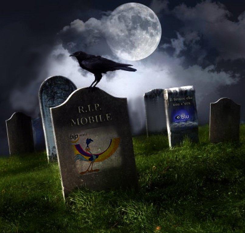 8042549-cimitero-con-vecchie-lapidi-luna-e-corvo-nero