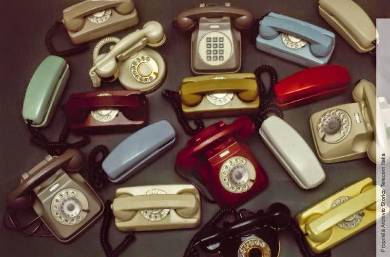 TELEFONI A DISCO COLORATI
