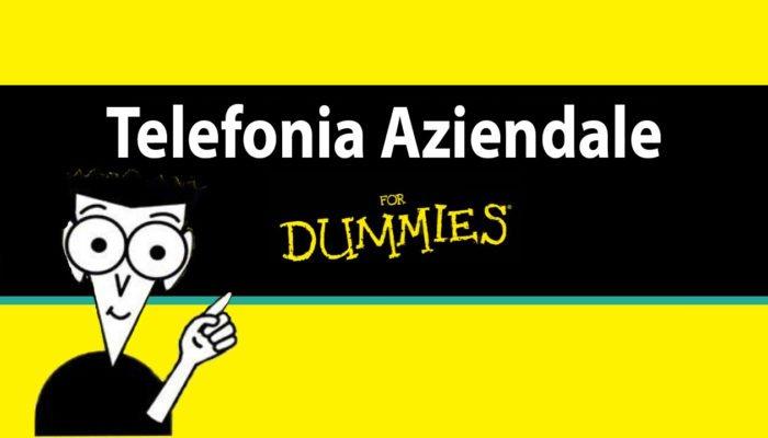 Telefonia For Dummies: come gestire al meglio la telefonia aziendale